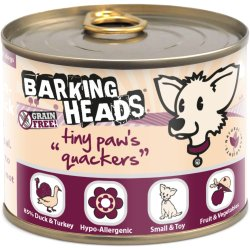 Barking Heads Tiny Paws Quackers 200gr