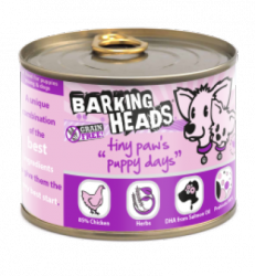 Barking Heads Tiny Paws Puppy Days 200gr.