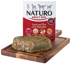 Naturo Adult Lamb & Rice with Vegetables  400gr