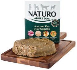 Naturo Adult Duck & Rice with Vegetables 400gr