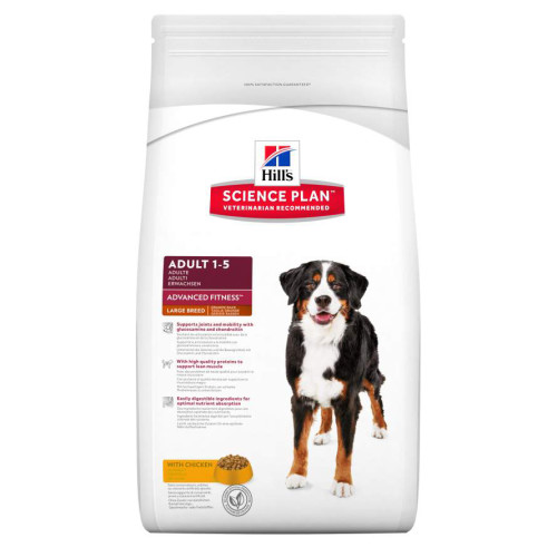 Hills Canine Adult Chicken Large Breed 18kg.