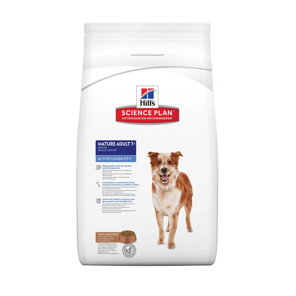 Hills Canine Senior Active Longevity Lamb & Rice 12kg.