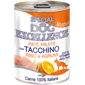 Special Dog exellence taccino/riso/agr 400gr konservai