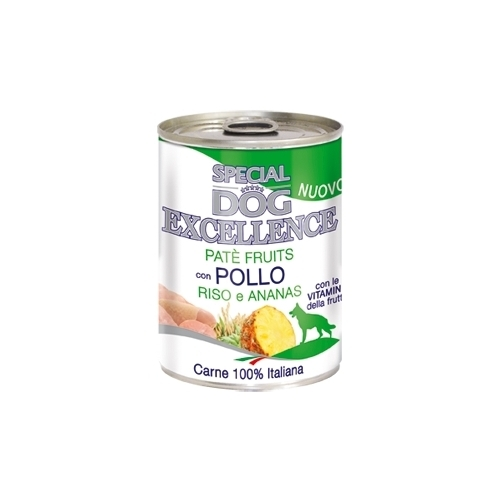 Special Dog exellence pollo/anr 400gr konservai