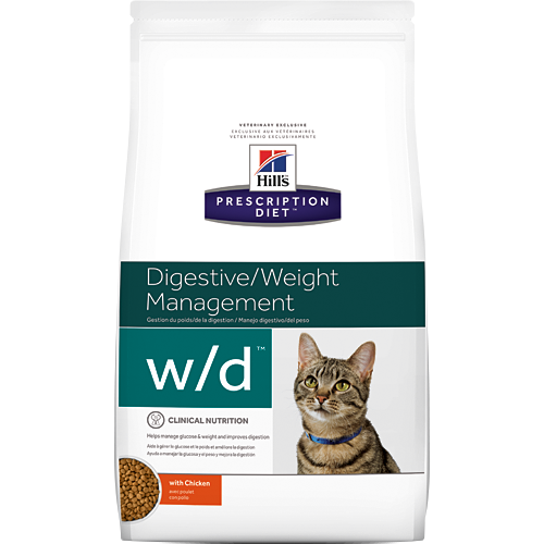 Hills Prescription Diet Feline w/d 5kg.