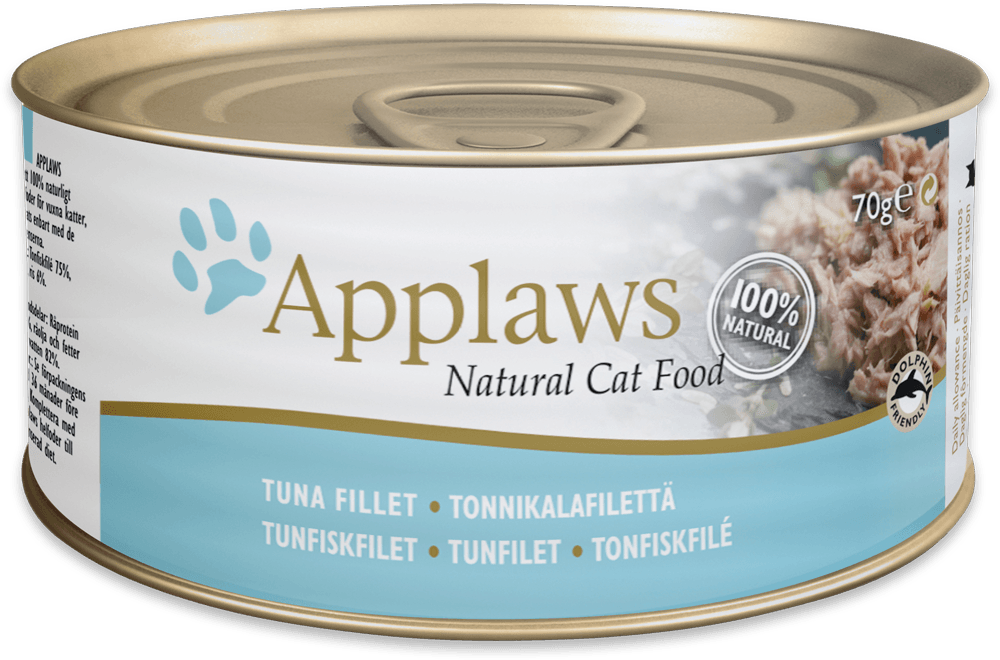 APPLAWS Tuna fillet 156gr kons.