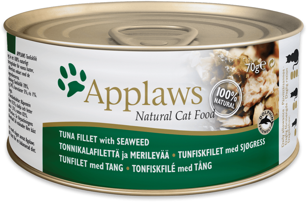 APPLAWS Tuna&Seaweed 156gr kons.