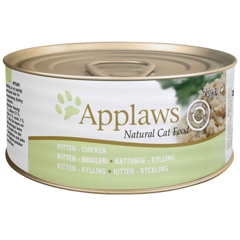 APPLAWS Kitten Chicken Breast  70gr.