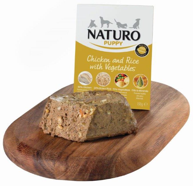 Naturo Grain Free Chicken & Potato with Vegetables 400gr