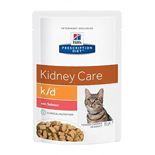 Hills Prescription Diet Feline k/d Salmon 12X85g