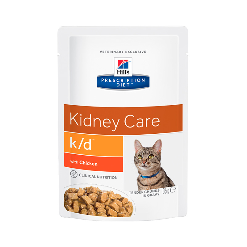 Hills Prescription Diet Feline k/d chicken 12X85g