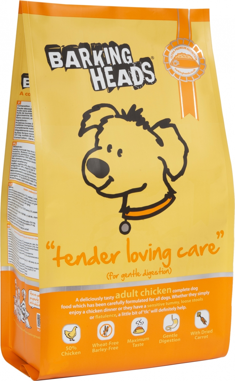 Barking Heads Tender Loving Care 2kg.