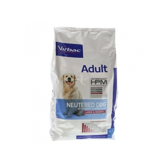 Virbac HPM Adult Neutered Dog Large & Medium 12kg