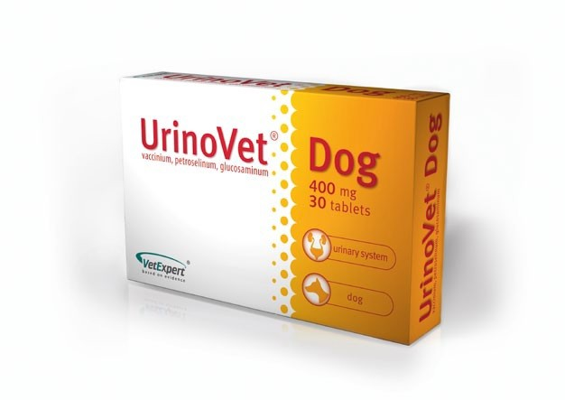 URINOVET Dog 400 mg, 30 tbl.