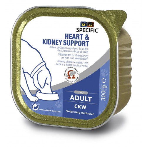 Specific CKW HEART & KIDNEY SUPPORT 6 x 300gr.