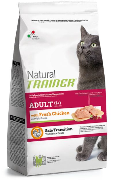 Trainer Natural Cat Adult with fresh Chicken 1,5kg.