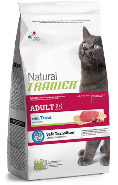 Trainer Natural Adult Cat with Tuna 1,5kg.