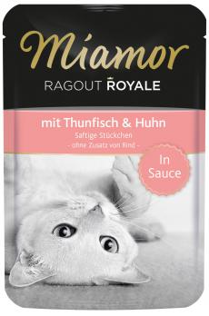 Miamor Ragout Royale mit Thunfisch & Huhn  100gr