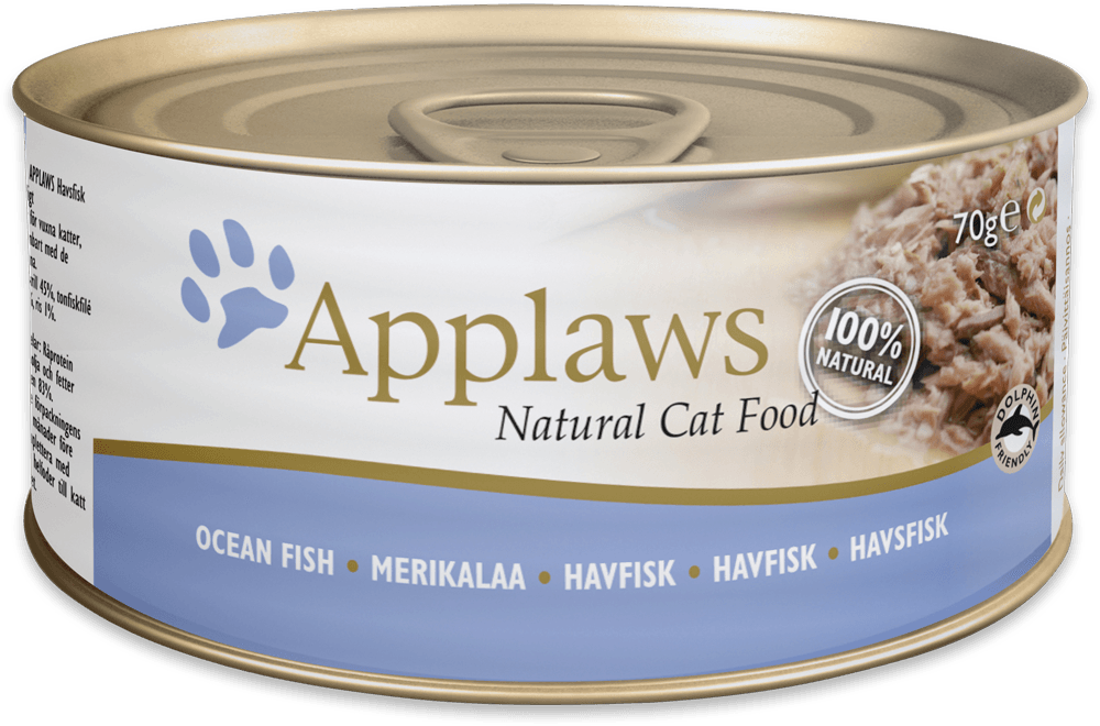 APPLAWS Cat Ocean Fish 70 kons.