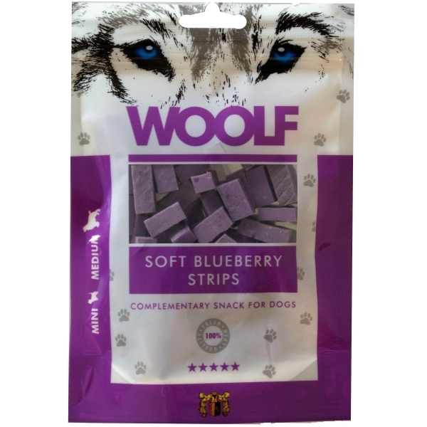 WOOLF Chicken with Blueberry Strips