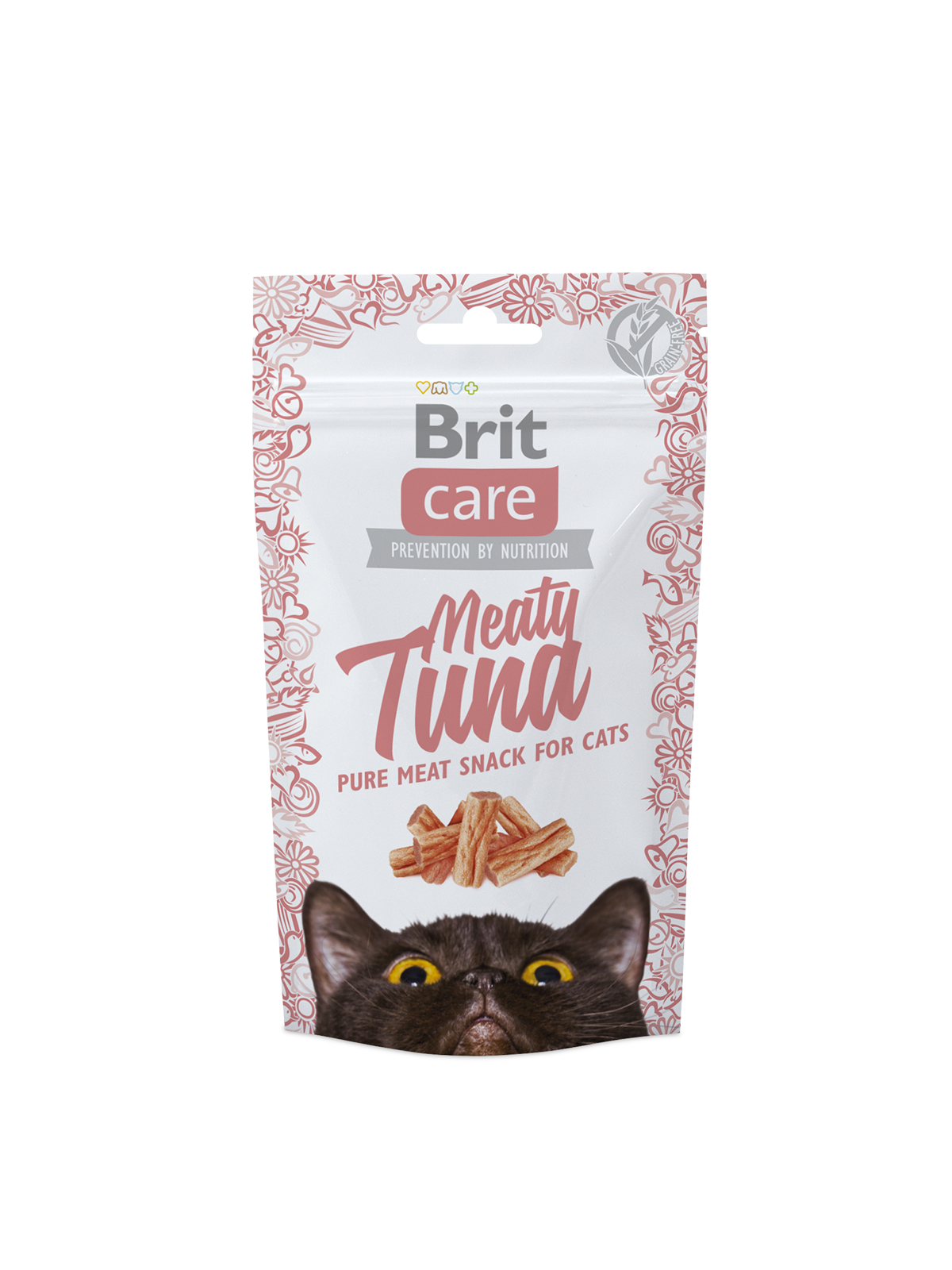 BRIT CARE Cat Meaty Tuna skanėstai 50gr.