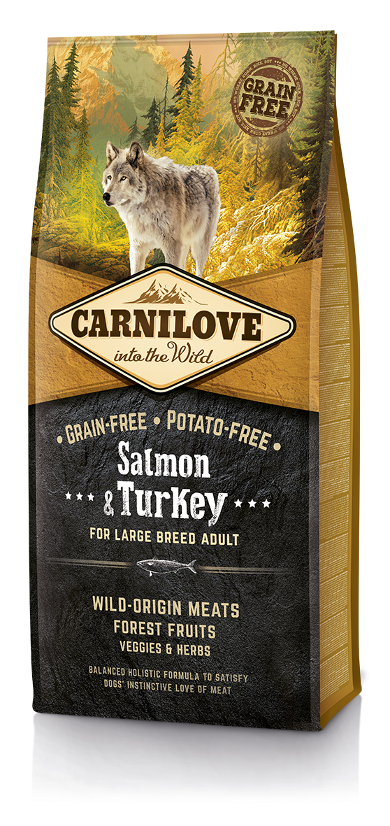 Carni Love Salmon&Turkey Adult Large Breed 12kg