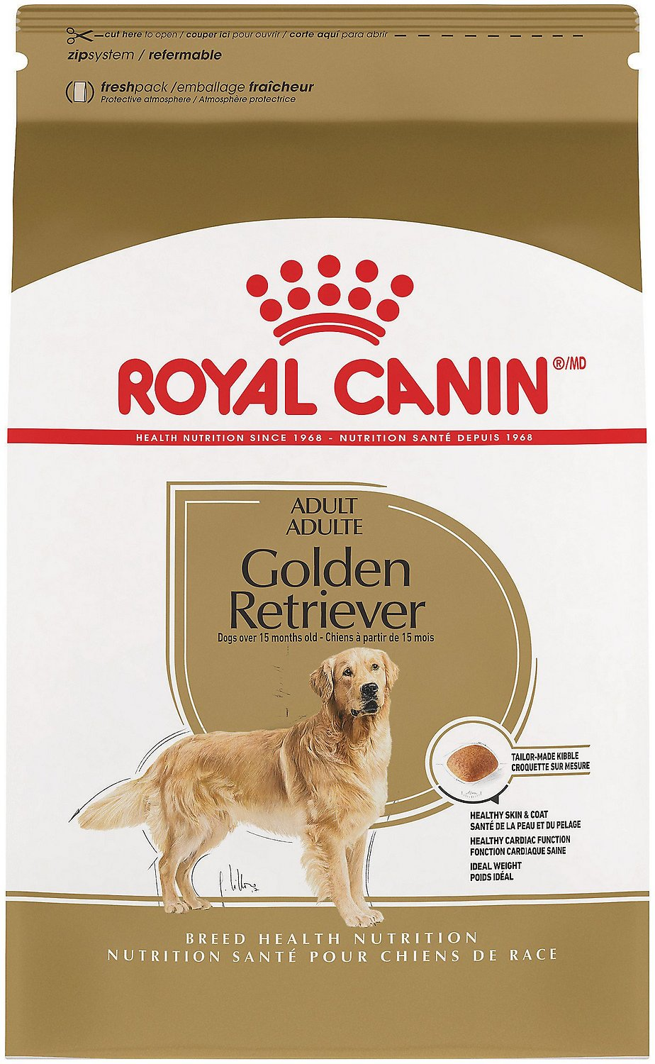 Šunų maistas Royal Canin Golden Retriever Adult 12kg.