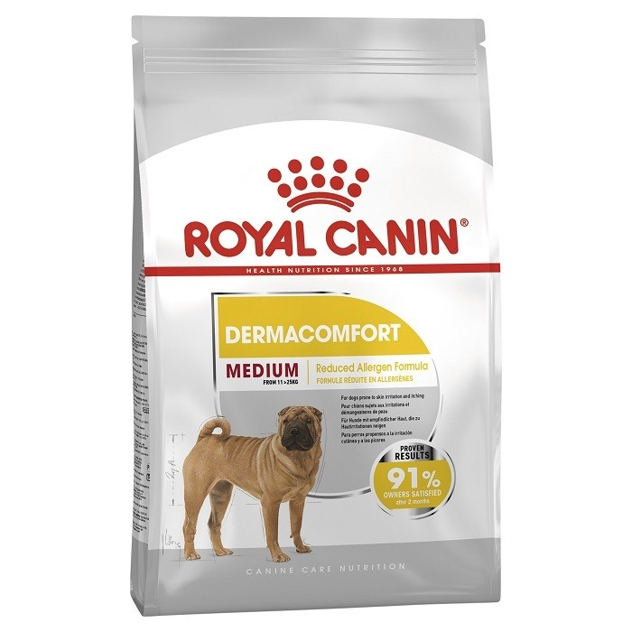 Šunų maistas Royal Canin Medium Dermacomfort 10kg.