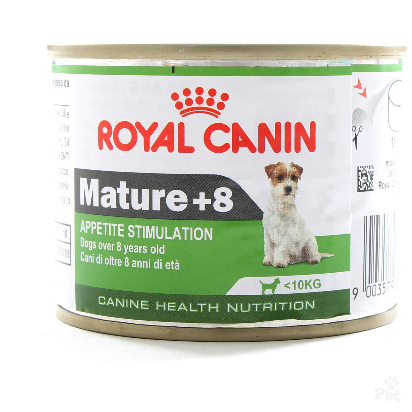 Royal Canin Mature +8 konservai 195gr.