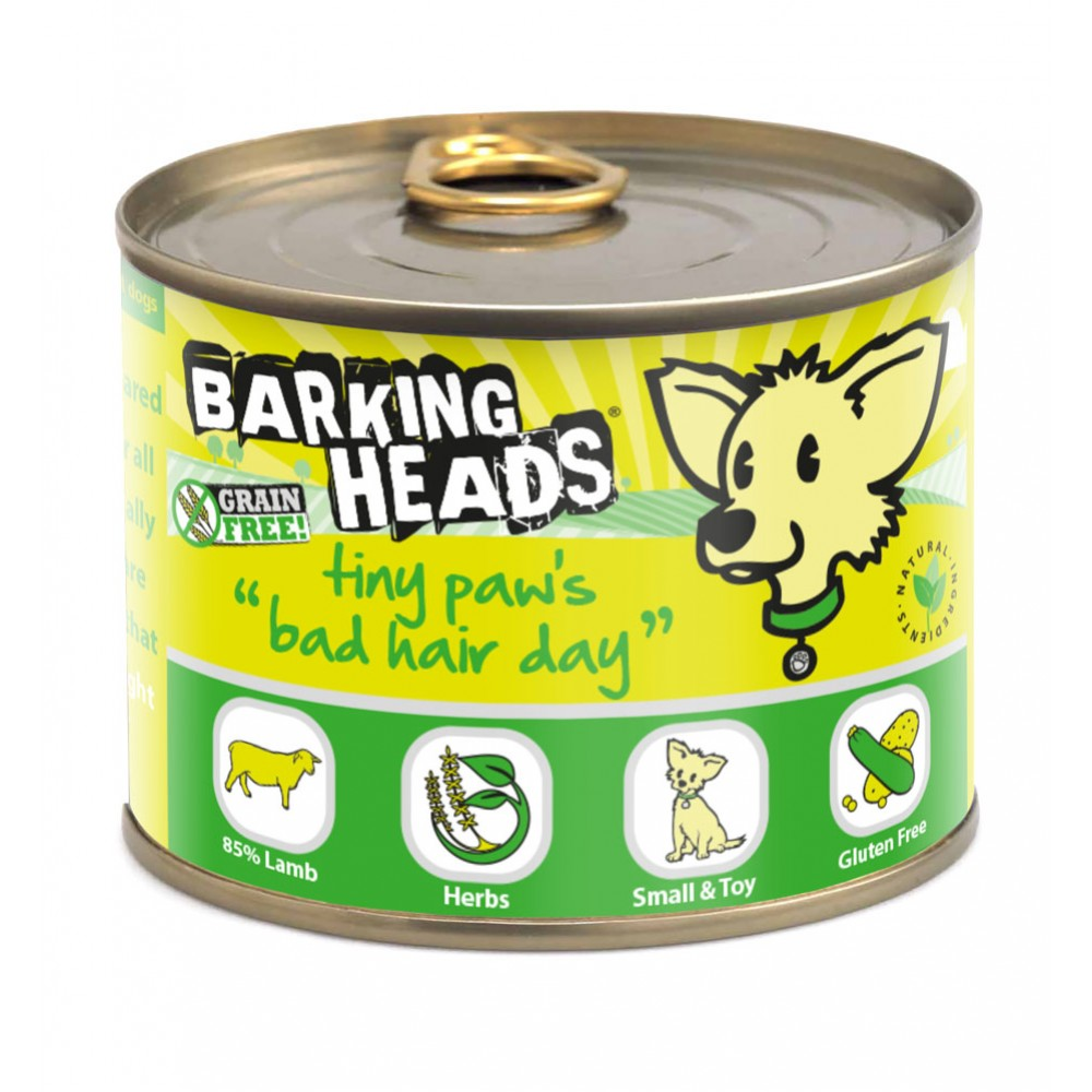 Barking Heads Tiny Paws Bad Hair Day 200gr.