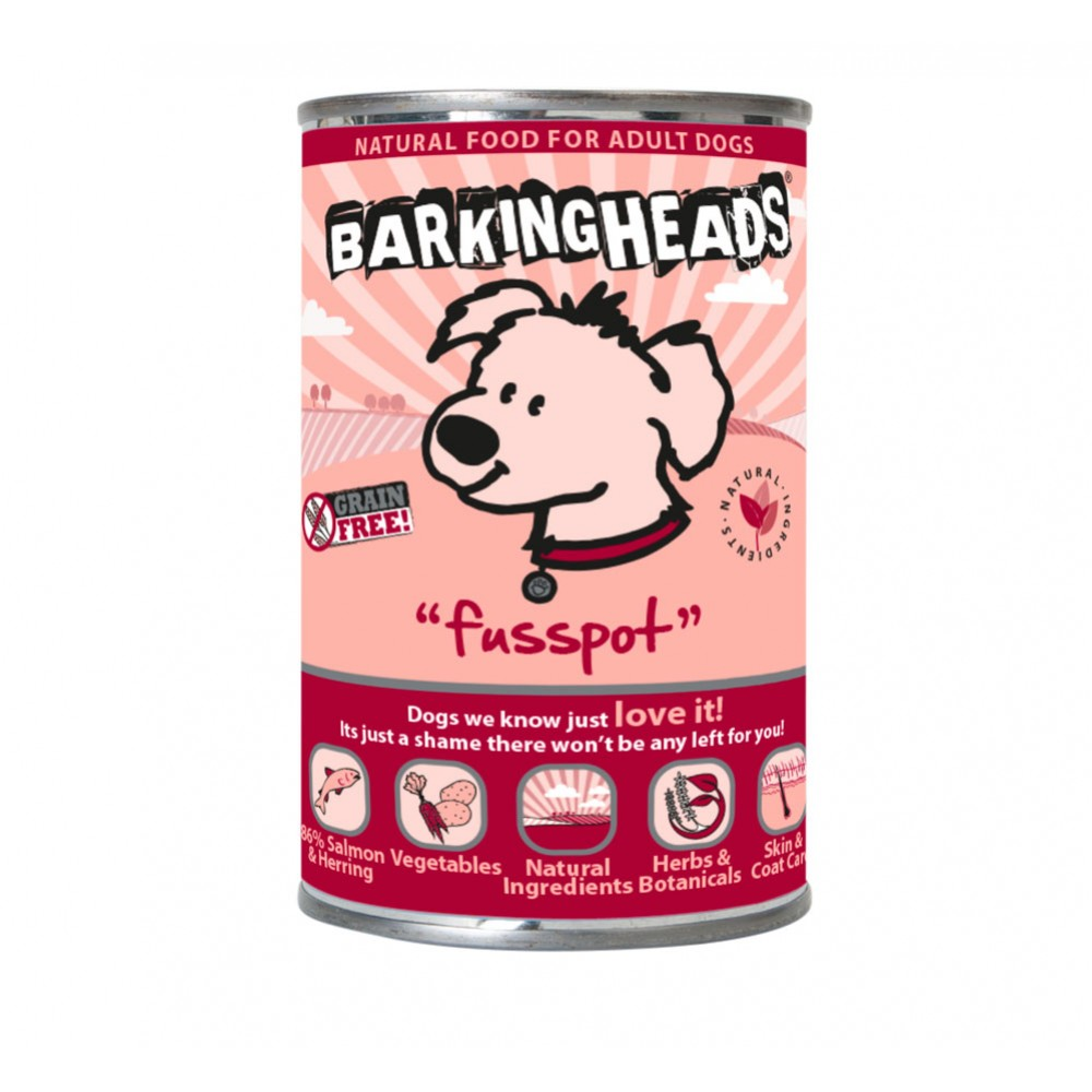 Barking Heads wet Fusspot 400gr.