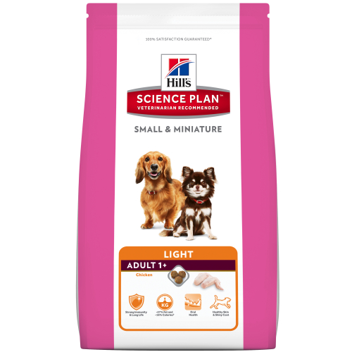 Hills Canine Adult Small&Miniature Light Chicken 1,4kg