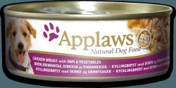 Applaws Dog Chicken, Ham & Vegetables 156gr. kons.