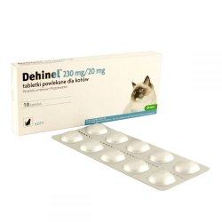 Dehinel 230 mg/20 mg tabletės katėms 1 tab.