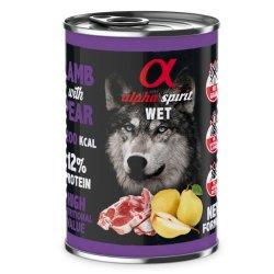 Begrūdis maistas šunims Alpha Spirit Dog Food MULTI COMPLETE  210gr indelis