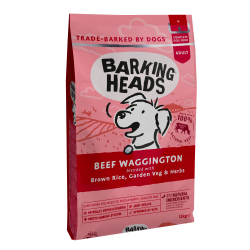 Barking Heads Beef Waggington Jautiena 12kg.