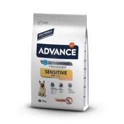 Šunų maistas Advance mini sensitive salmon rice 7,5kg