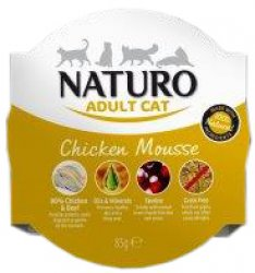 Naturo Cat Chicken Mousse 85gr