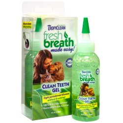 Tropiclean Fresh Breath Clean Teeth gelis 118ml.