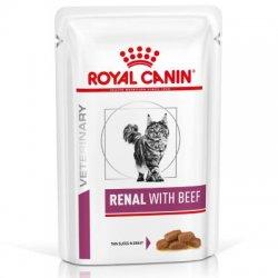 Royal Canin Renal with Beef guliašas 85gx12vnt.
