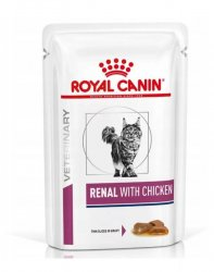 Royal Canin Renal with Chicken giliašas 85gx12vnt.