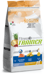 Trainer Fitness 3 Adult Medium&Maxi Salmon-Maize-Oil 12,5kg.