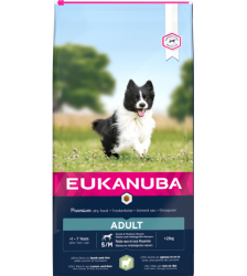 Eukanuba Adult Small & Medium Lamb & Rice 12kg.