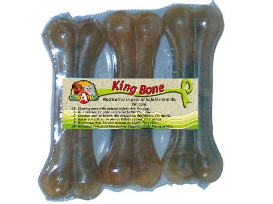 King Bone Sausgysliniai kaulai 10cm/35gr- 3vnt