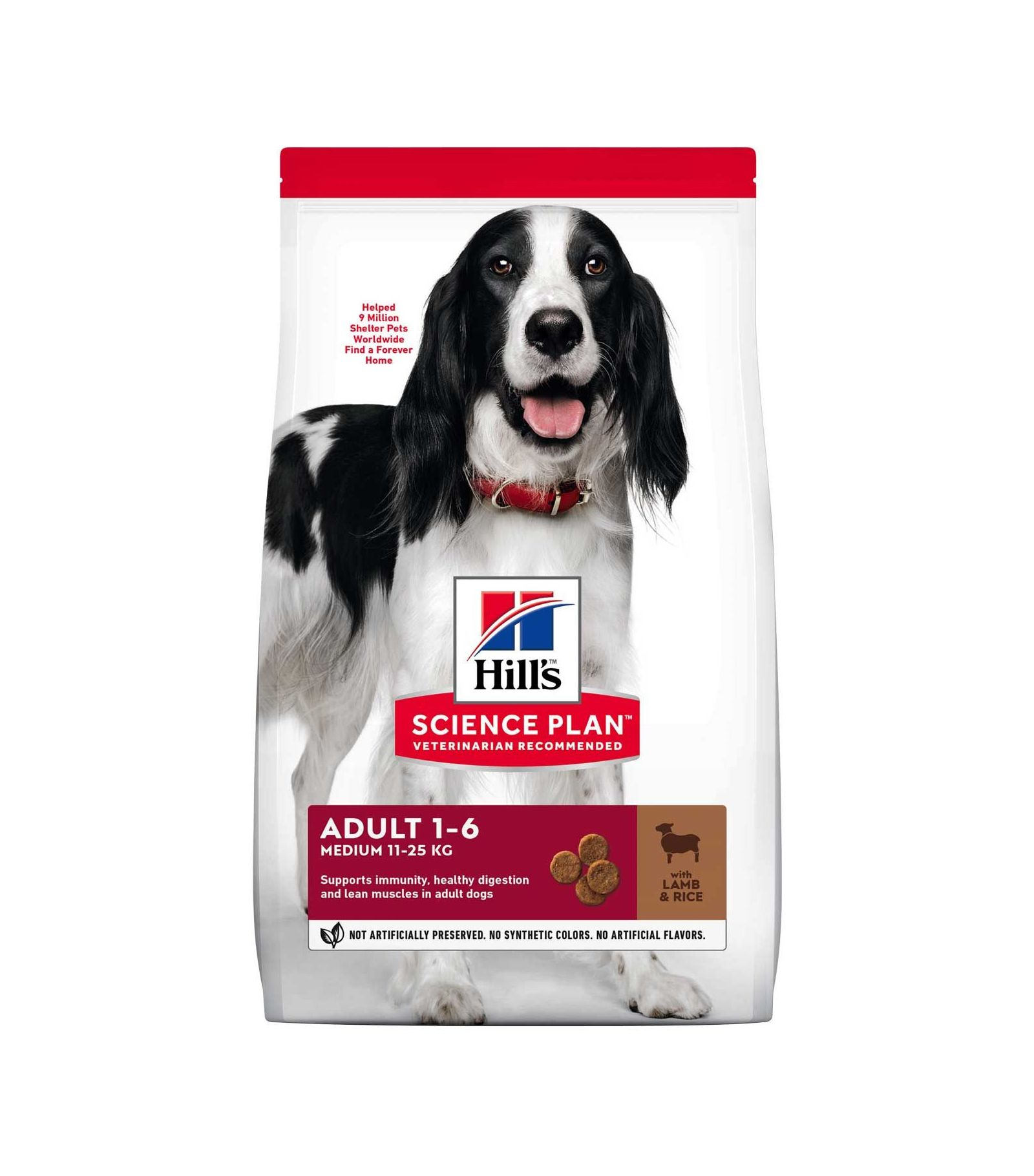 Hills Canine Adult Advanced Fitness Lamb & Rice 18kg.