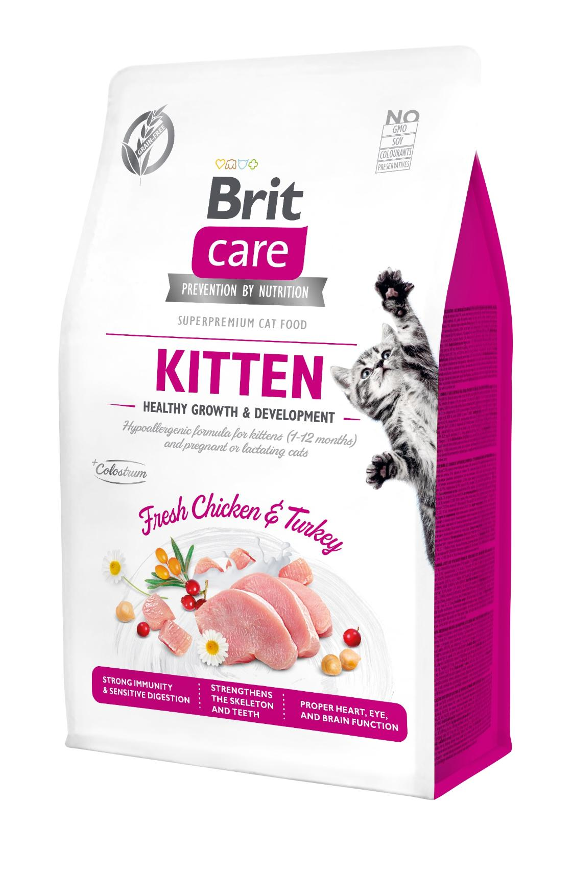 Kačių maistas Brit Care Cat Crazy kitten 7kg.