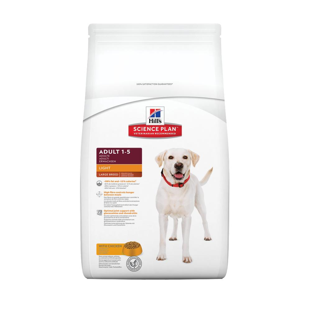 Hills Canine Light Adult Large Breed Chicken 12kg.