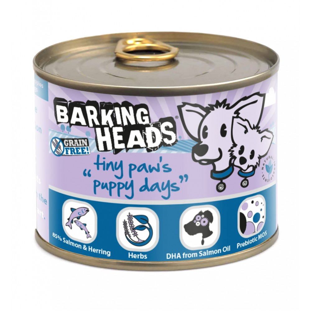 Barking Heads Puppy Days salmon 200gr