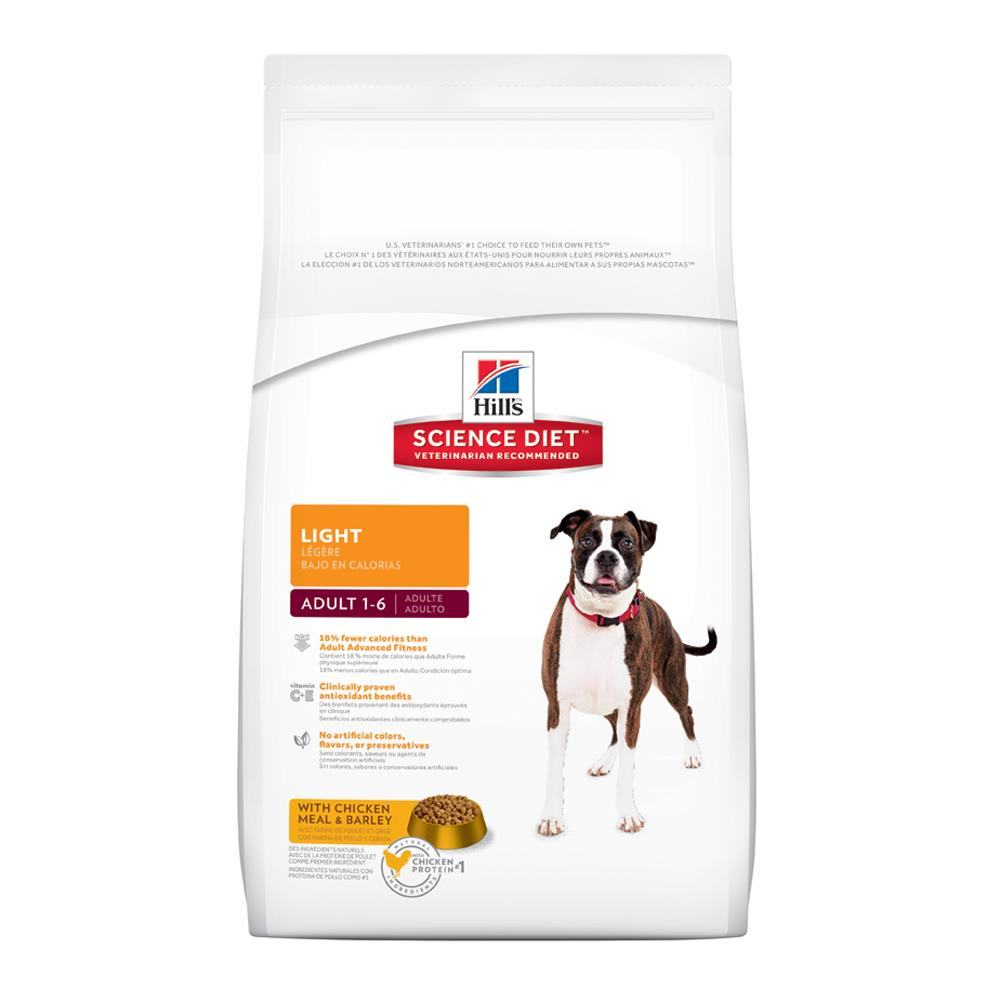 Hills  Canine Light Adult Original Chicken 12kg.