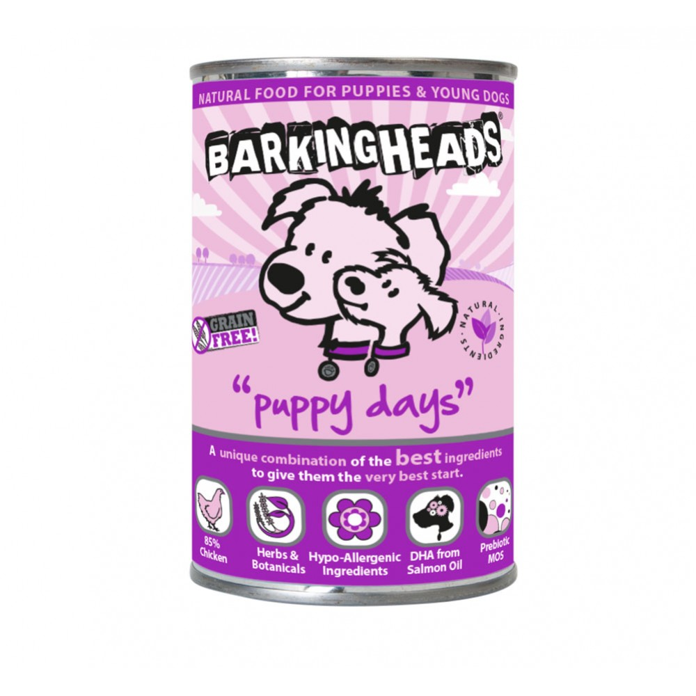 Barking Heads Puppy Days 400gr